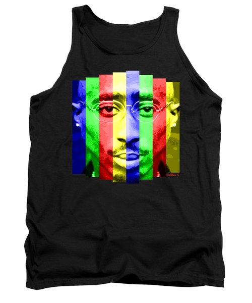 Tupac Stripes  Tank Top