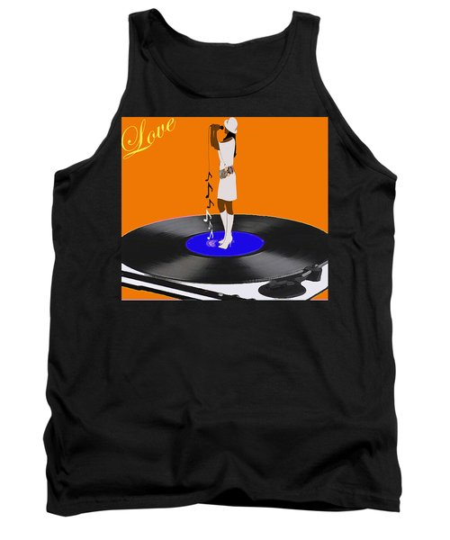 Turntable Love Tank Top