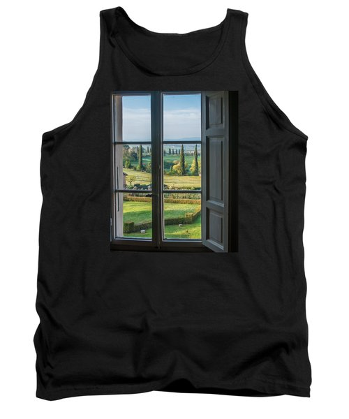 Tuscany Out My Window Tank Top