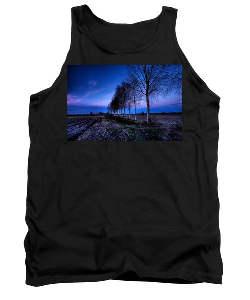 Twilight And Trees Tank Top
