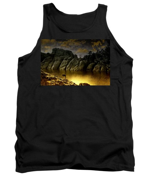 Twilight At The Lake Tank Top