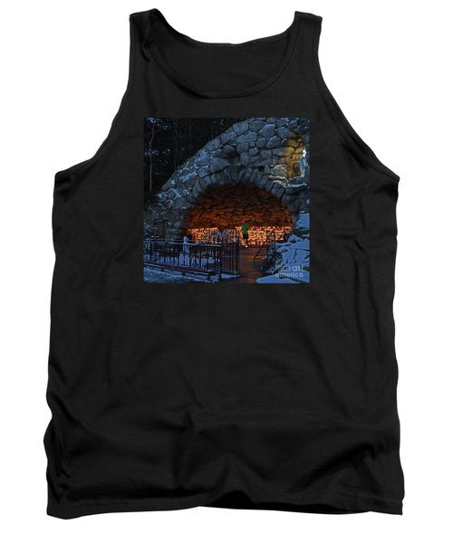 Twilight Grotto Prayer Tank Top by John Stephens