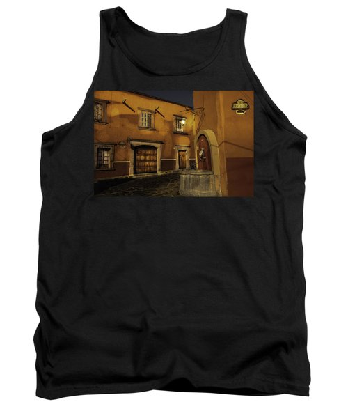 Twilight On The Corner Tank Top