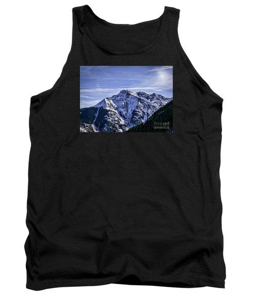 Twilight Peak Colorado Tank Top by Janice Rae Pariza