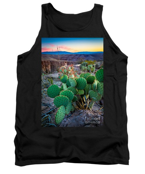 Twilight Prickly Pear Tank Top