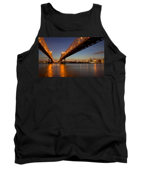 Tank Top featuring the photograph Twin Bridges by Evgeny Vasenev