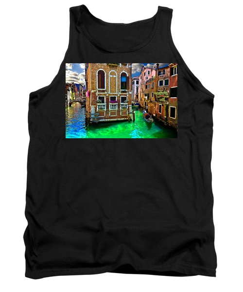 Twin Canals Tank Top