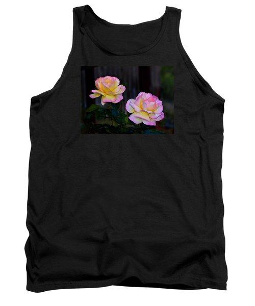 Twin Roses Tank Top