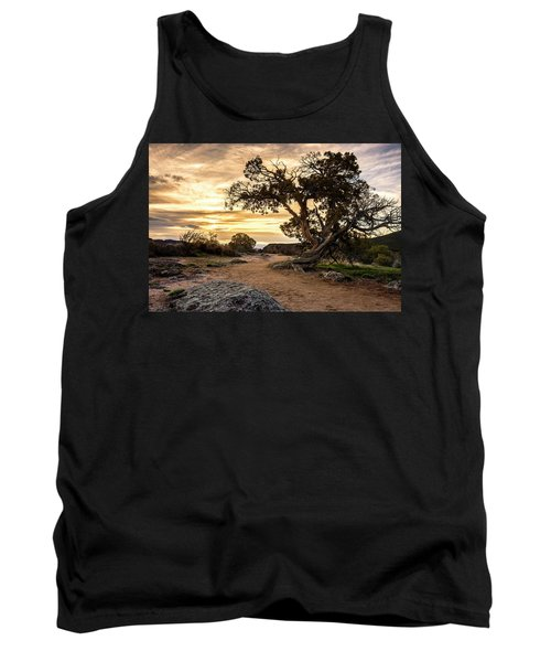 Twisted Sunset Tank Top