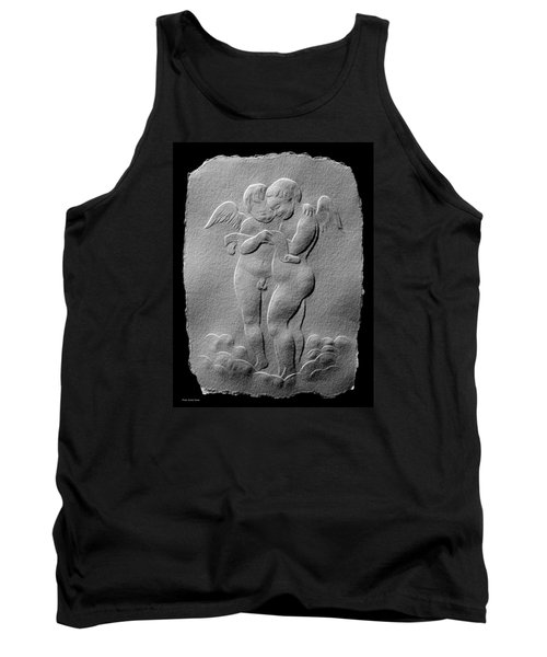 Tank Top featuring the relief Two Angels by Suhas Tavkar