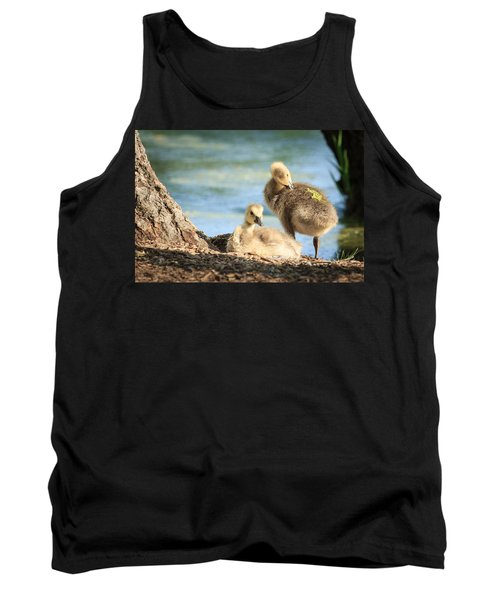 Two Little Goslings Tank Top