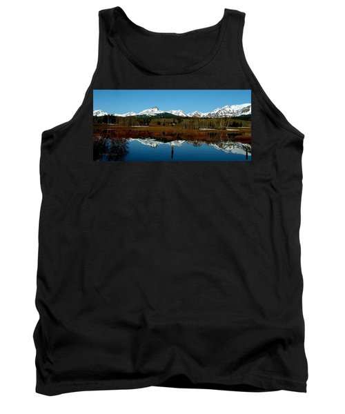 Two Med River Reflection Tank Top