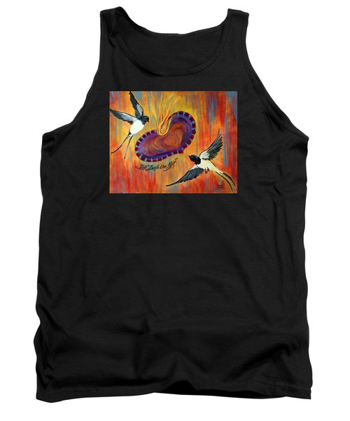 Two Souls One Heart Tank Top