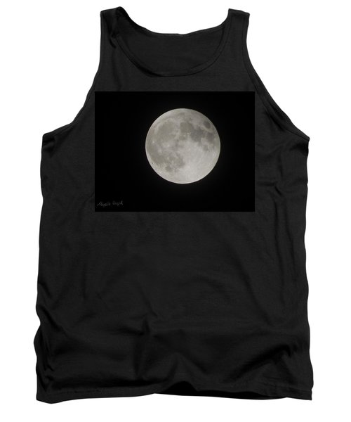 Two-tone Gray Moon Tank Top