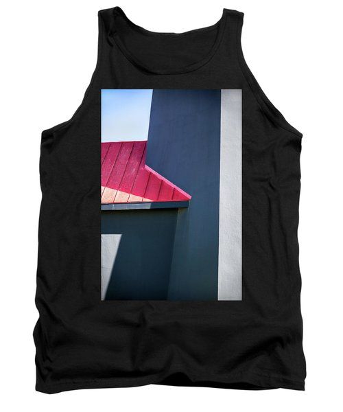 Tybee Building Abstract Tank Top