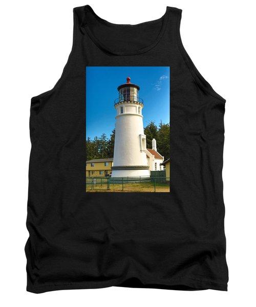 Umpqua River Lighthouse Tank Top