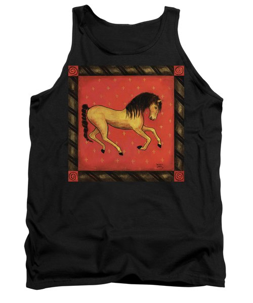 Unbridled ... From The Tapestry Series Tank Top by Terry Webb Harshman