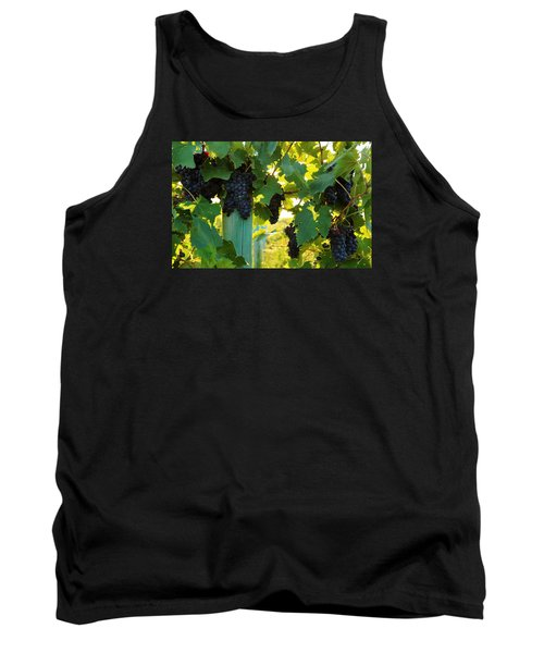 Tank Top featuring the photograph Under The Leaves by Lynn Hopwood