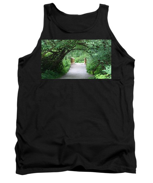Under The Tunnel Tank Top by Rod Jellison