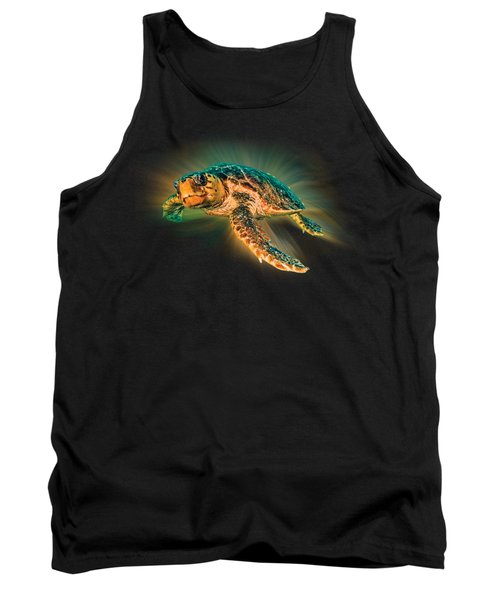 Undersea Turtle Tank Top