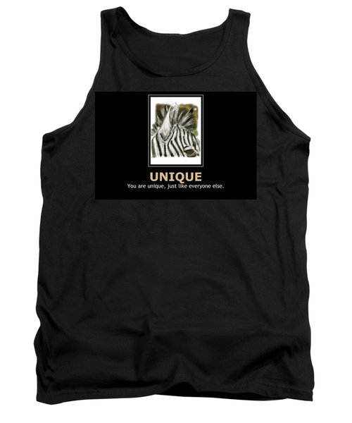 Unique Motivational Poster Tank Top
