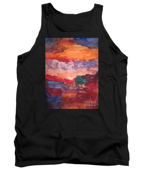 untitled 109 Original Painting Tank Top
