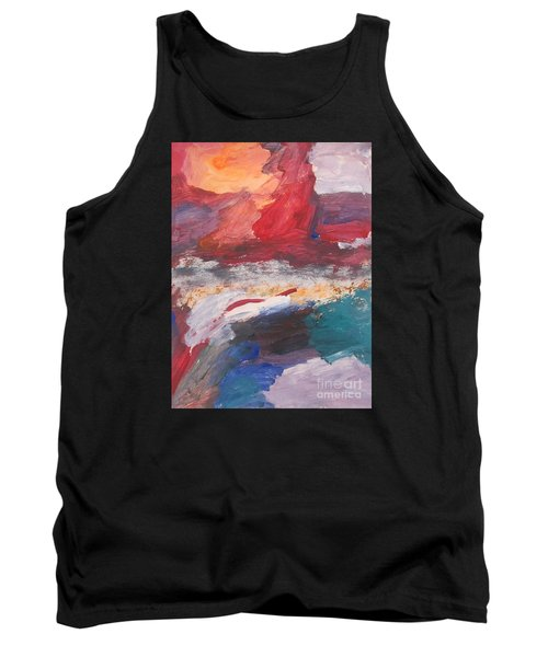 Untitled 98 Original Painting Tank Top