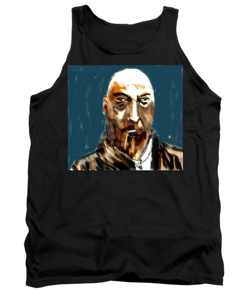 Tank Top featuring the painting Ivan by Jim Vance