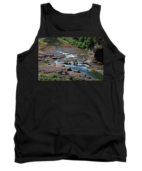 Tank Top featuring the photograph Upper Salt by Gary Kaylor