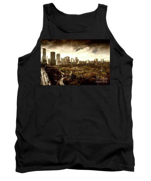 Upper West Side Of New York In Spring Tank Top