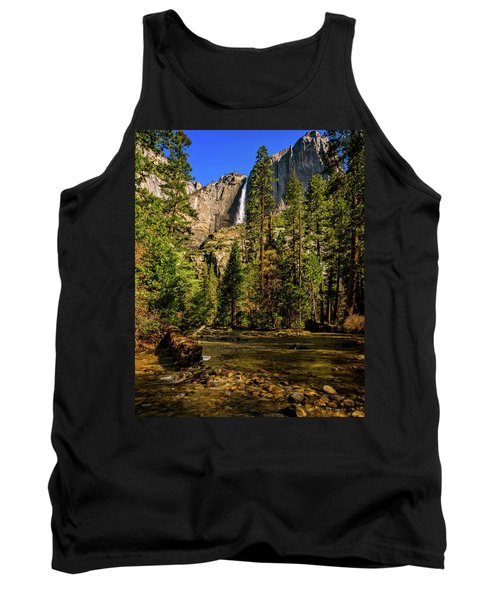 Upper Yosemite Falls From Yosemite Creek Tank Top