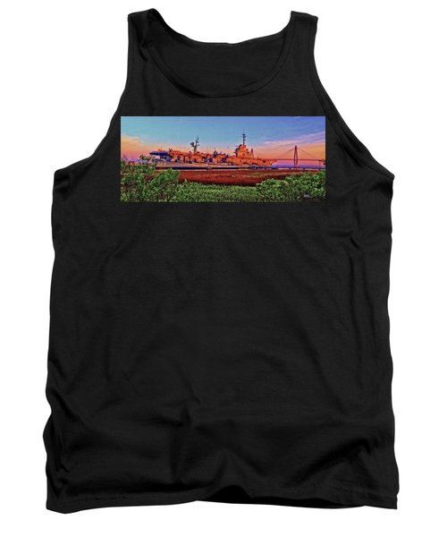 Uss York Town Tank Top