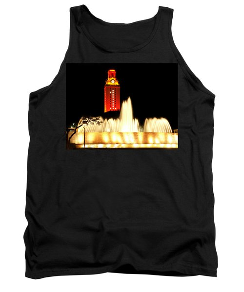 Ut Tower Championship Win Tank Top by Marilyn Hunt