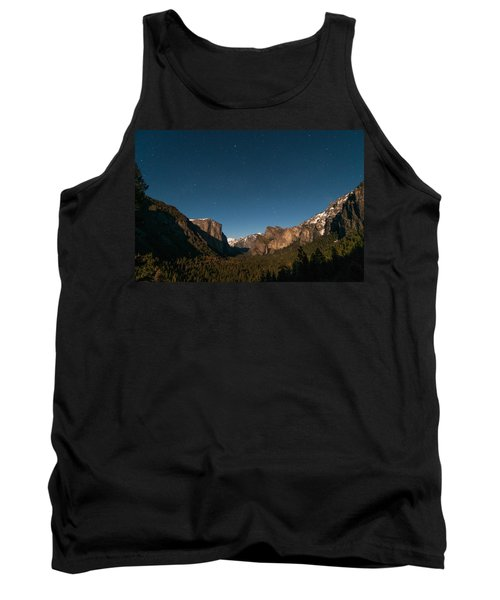 Valley View By Moon Light Tank Top