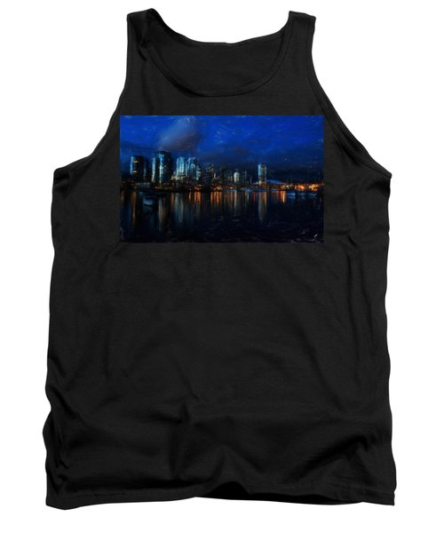 Vancouver At Dusk Tank Top