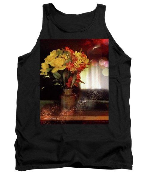 Vase Of Flowers Tank Top