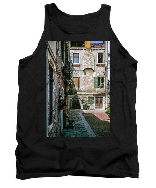 Venetian Back Street Tank Top