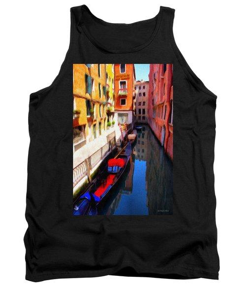 Venetian Canal Tank Top