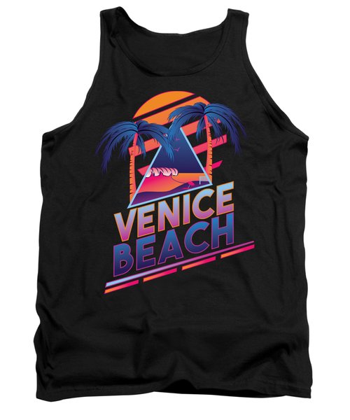 Venice Beach 80's Style Tank Top by Alek Cummings