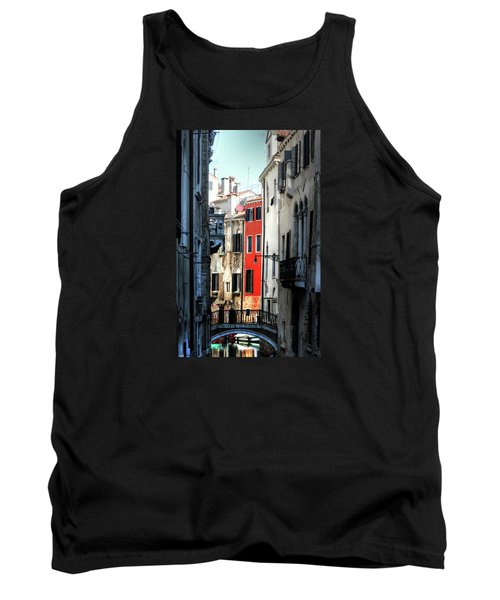 Tank Top featuring the photograph Venice Xx by Tom Prendergast