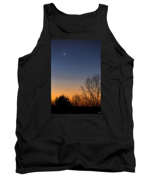 Venus, Mercury And The Moon Tank Top