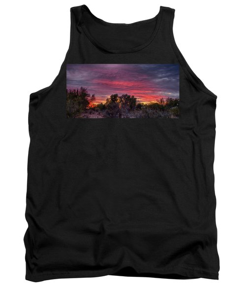 Verigated Sky Tank Top