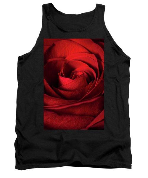 Vertical Rose Tank Top