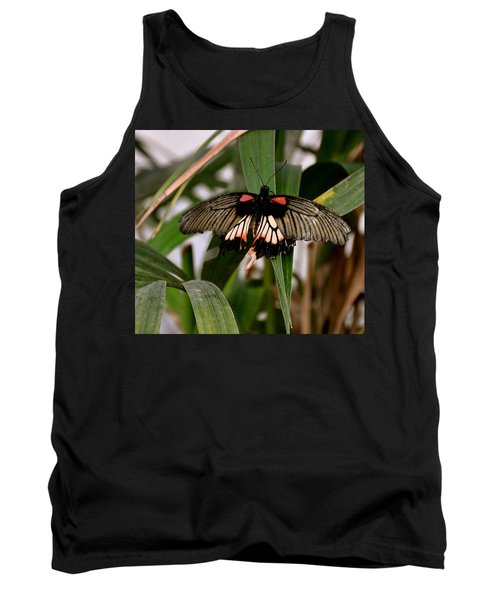 Vibrant Butterfly Tank Top