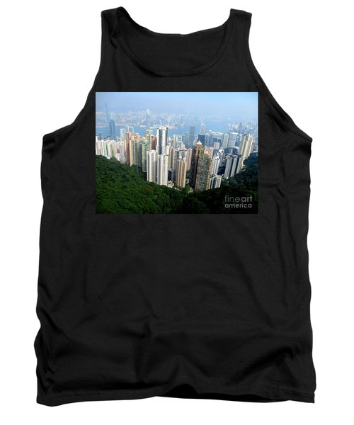 Tank Top featuring the photograph Victoria Peak 1 by Randall Weidner