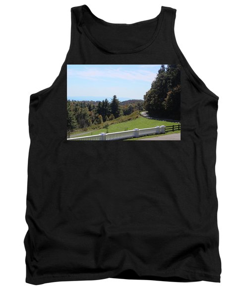 View From Moses Cone 2014a Tank Top