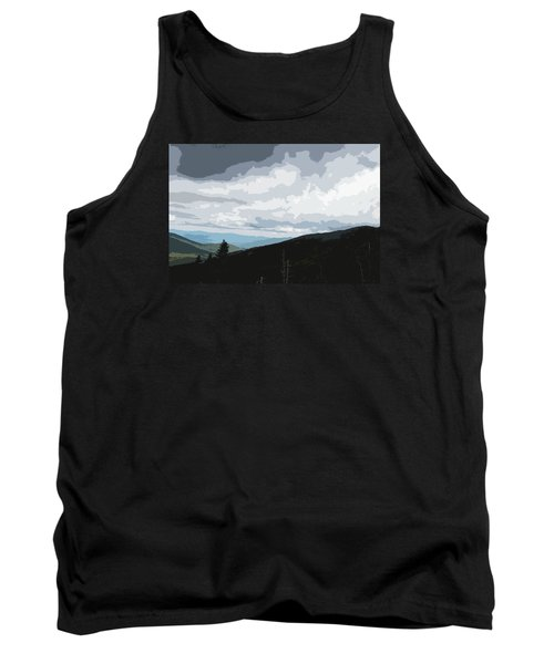 View From Mount Washington II Tank Top by Suzanne Gaff