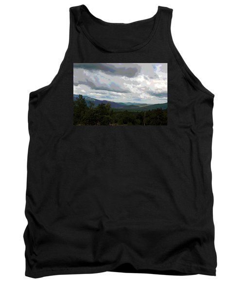 View From Mount Washington IIi Tank Top by Suzanne Gaff