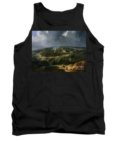 View Of Jerusalem From The Valley Of Jehoshaphat Tank Top