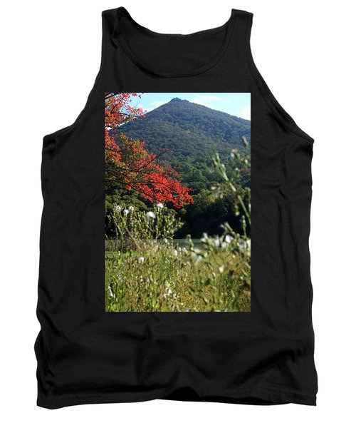 View Of Sharp Top In Autumn Tank Top by Emanuel Tanjala